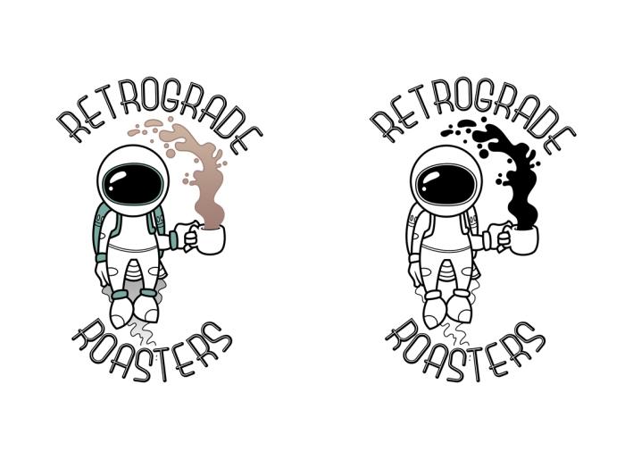 Retrograde Roasters Astronaut